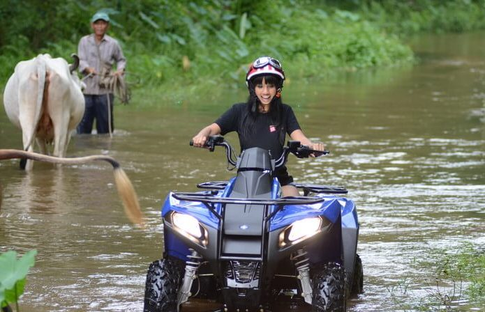 Thrills and Spills at ATV Adventures Pattaya